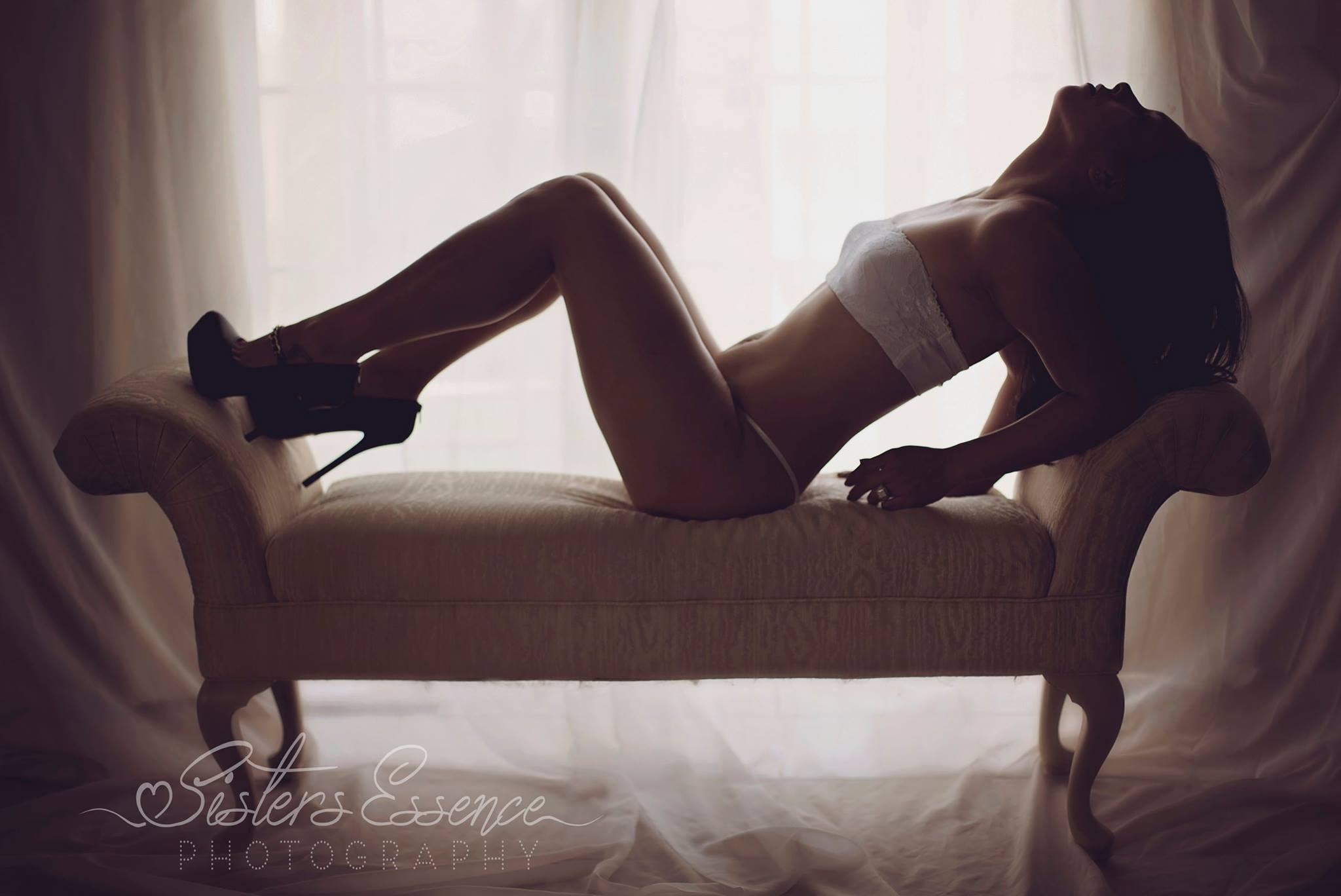 Boudoir Photo Shoot | Sisters Essence Boudoir | Madison Boudoir Photographer